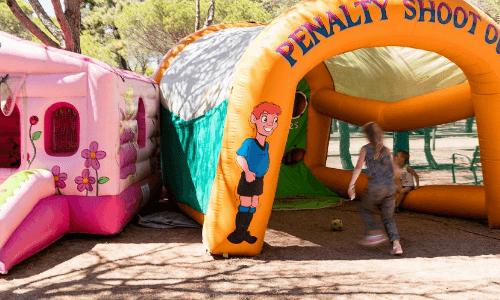 Camping Playa Brava Springkussen