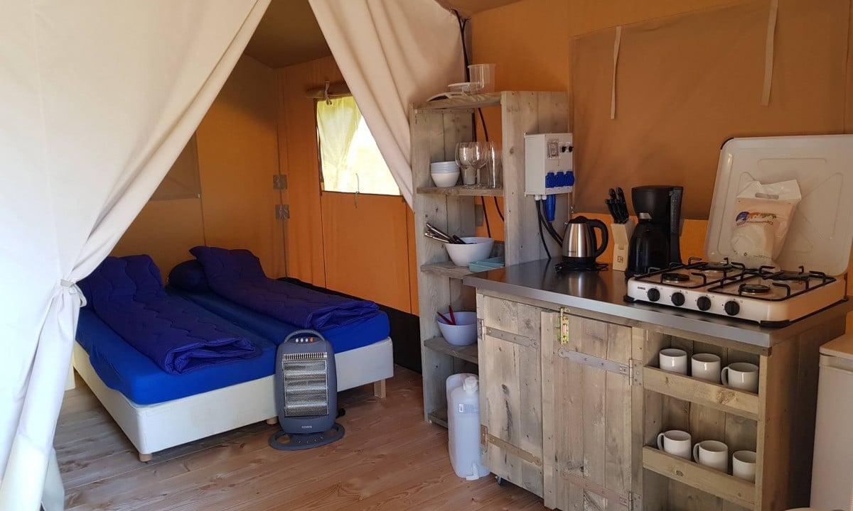 Ingerichte Tent Nederland